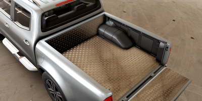 Mountain Top Hard Lid Style can easy be removed when driving with odd cargo