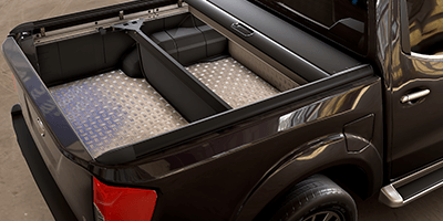 Mountain Top Bed Divider designed to maximize your truck bed functionality