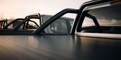 Mountain Top pickup truck accessories customized for VW